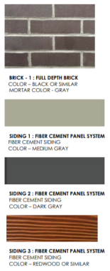 Projected Exterior Finishes